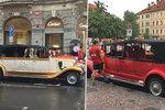 Historická auta zatěžují centrum, zní z radnice Prahy 1: Během prázdnin probíhá velká kontrola