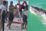 Žraloci zaútočili čtyřikrát během jediného týdne. Surfař slavil přežití v baru