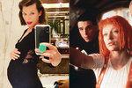 Milla Jovovichová (43) oznámila těhotenství: Kvůli prodělanému potratu se třese strachy