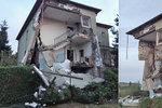 Výbuch domu ve Strahovicích: Muže († 28) nezabila exploze válečné munice, ale benzín!