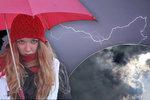 Silné bouřky vystřídá déšť, sledujte radar. A přijde teplotní sešup až k 6 °C