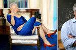 Mrtvý miliardář Epstein měl doma Clintona v dámských šatech! Půjčil si je od Hillary