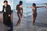 Bára Kodetová (48) se po dietě ukázala v plavkách své dcery (18)