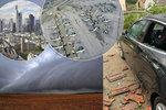 Silné bouřky v Německu: Desítky zraněných, kolaps železnice a blesk v tiskárně