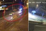 Honička pod Strahovem! Opilý řidič (37) se schoval ve křoví, nakonec se vzdal