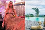 Topmodelka Petra Němcová (40) čeká miminko: Je to božský dar! jásá na instagramu tři týdny po svatbě