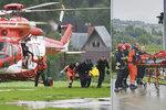 Očitý svědek bouře v Tatrách: Všude byla krev a hořící těla!