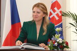 Čaputová oslavila 28. října u Štefánika. Zmínila i návrat svátku na Slovensko