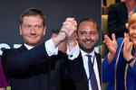 """Strana Merkelové uspěla v Sasku. """"Na paty"""" jí ale šlapala protiimigrační AfD"""