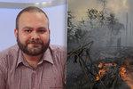 """""""Plíce"""" planety v plamenech: Požáry ovlivňují klima, varuje expert. Zmínil i skleníkové plyny"""