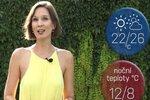 Víkend bude slunečný, v pátek čekejte až 26 °C. V neděli pozor na přízemní mrazíky