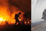 Indonésie hoří. Kouř dusí Singapur i obyvatele sousedních států