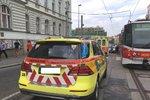 Tramvaj v Olomouci srazila nezletilou dívku: Doprava v ranní špičce kolabovala