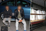 Kamioňák vytáhl nůž na migranty, které dovezl na Klatovsko: Myslel, že to jsou teroristi!