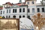 Nahlédněte do Veleslavínského zámku, kde se léčila i první dáma: Zůstaly honosné sály a nepořádek