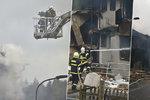 Výbuch v Lenoře vyhnal z domovů dvě desítky obyvatel: První rodiny se mohou vrátit