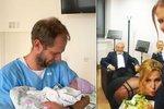 Radost na truchlící Bertramce! Mluvčí Gotta porodila a dítě po něm pojmenovala