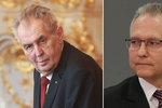 Babiš apeluje na Zemana, šéfa BIS Koudelku chce vláda napočtvrté za generála