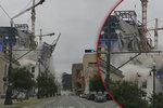 Šílenství v New Orleans: Do ulice se zřítil Hard Rock Hotel