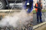 Chemii odzvonilo. Dopravní podnik bude s plevelem bojovat vroucí vodou a párou
