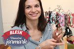 """Andrea (35) vyrábí """"chytré"""" náramky, které zachraňují děti! Pojďte se přesvědčit na Vánoční jarmark Blesku"""
