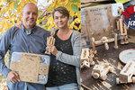 Manželé vyrábějí originální kostky: Spojují se druky! Přijďte si pohrát na Vánoční jarmark Blesku