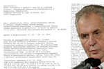 Kompletní přepis zprávy o vyšetření prezidenta Miloše Zemana: Jak na tom je?