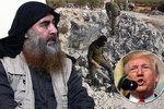 Trump stažením vojáků ze Sýrie ztížil dopadení Bagdádího, operaci museli urychlit