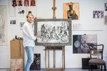 V zahraničí ho srovnávají s mistry renesance: Malíř Josef Zlamal (35) navazuje na rodinnou tradici