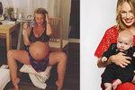 Podruhé těhotná Krejčíková šokuje: Chce domácí porod! Před zraky synka (1)