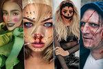Halloweenské kostýmy hvězd vás dostanou: Zbitá Peštová, zombie Kraus a hrášek Jasmina!
