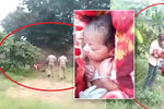 Šokující video: Rodina se chystala pohřbít novorozenou holčičku zaživa!