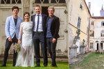 Stropnický: Svatba na zámku! Lopotu vystřídala radost i nový byznys