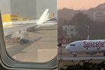 Cestující vyděsila izolepa na okénku letadla. Aerolinky hlásí: Problém vyřešen