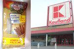 Kaufland prodával falšované klobásy, odhalila inspekce. Obsahovaly méně masa