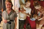 Znovu těhotná Marie Doležalová: Po selfie se smetákem ukázala bříško