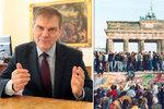 Bývalý velvyslanec Jindrák o Berlínské zdi: Mezi Němci zůstává i 30 let po pádu
