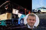 Slovensko truchlí za oběti nehody u Nitry. Vláda vyhlásila státní smutek