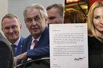 Ivana Gottová poslala prezidentovi Zemanovi dopis plný bolesti: Tohle jsem nečekala!