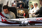 Víno k snídani a rozcvička v uličce: Let Londýn-Sydney trval téměř 20 hodin