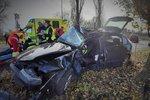 Těžce zranění při srážce dvou aut: Děti skončily v nemocnici