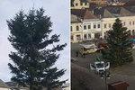 """Manévry okolo vánočního stromu v Bruntále: """"Opička"""" a pak trojšpička?"""