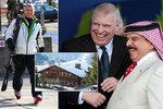 Padlý princ Andrew a jeho miliardové rozhazování! Kde na to bral?
