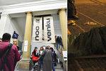 Pražané okusili Noc venku: Bezdomovci jim odhalili svůj svět, i to, jak se pobavit