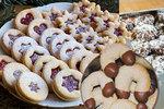 Vánoční pečení: Zkuste medvědí pracny, křehké linecké i třené banánky