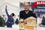 Ježíškova pošta i originální výrobky: Vánoční jarmark Blesku se otevře už zítra! Kompletní víkendový program