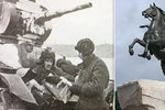 Tajemství válečné fotografie: Hrdinný tankista ležel 78 let pod skládkou panelů