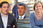"""Premiér je hamižný chrapoun."" Do Babiše se kvůli auditu z Bruselu pustili i europoslanci"
