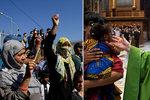 Církev převezla z přeplněného tábora 33 uprchlíků, dalších 10 bude následovat. Papež vzal celé rodiny