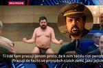 Čech označil Novotného v ruské TV za blázna. Starosta: Plivu na něj, koště kolaborantské